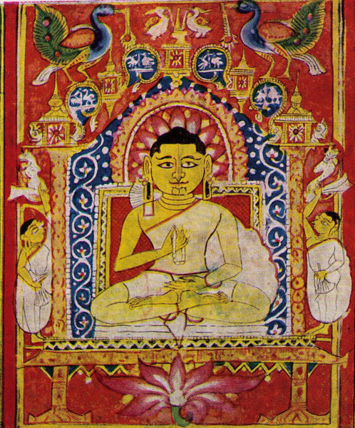 Miniature Painting of Ganadhara Sudharma