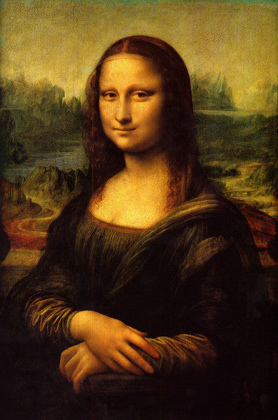 A print of the Mona Lisa by Leonardo da Vinci