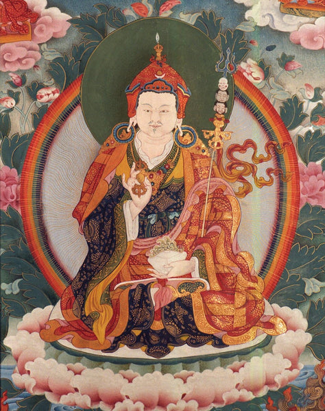 Painting of Padmasambhava