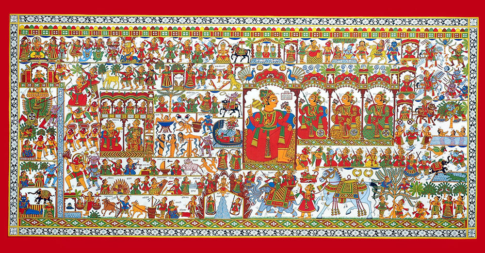Phad Paintings Of Rajasthan A Tale Of Tradition
