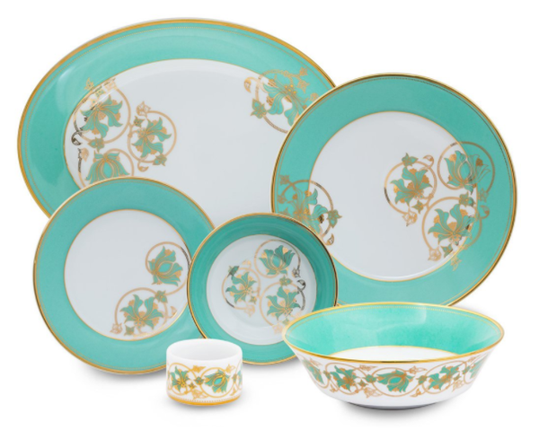 'Spring In Udaipur' Dinner Set by Nishita Fine Dinnerware