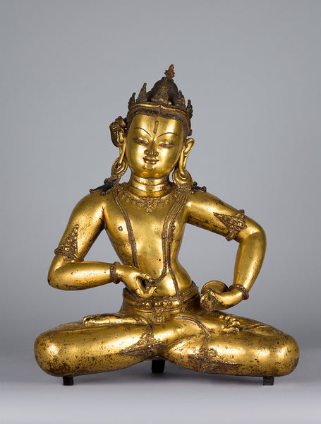 Statue of Vajrasattva from the 14th century