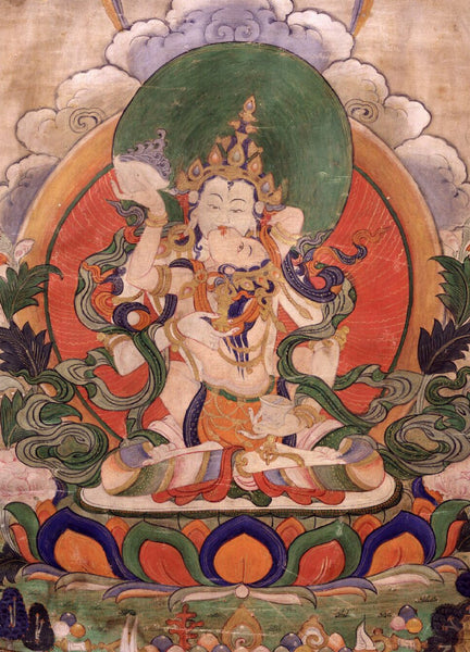 Painting of Vajrasattva with Consort