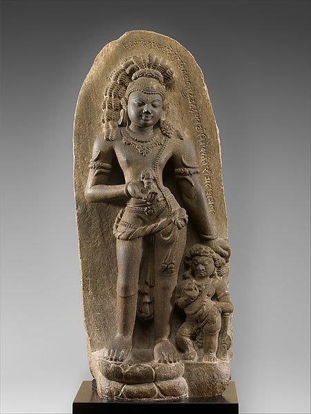 Stone Sculpture of Vajrapani from the 7th Century