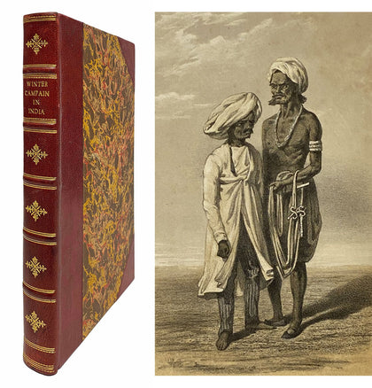 Winter Campaign in India; 1859, First Ed.