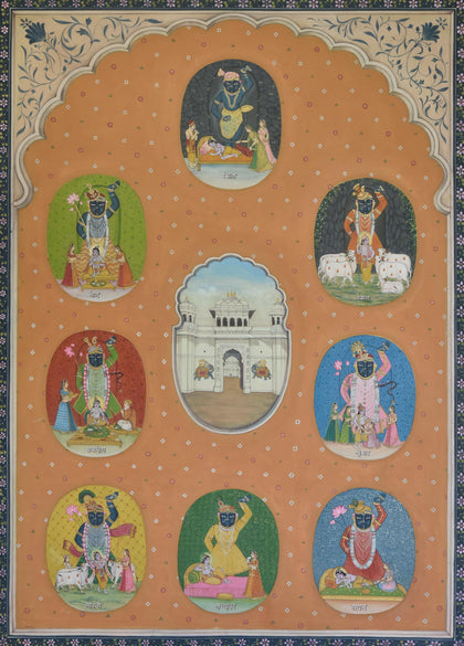 Darshans of Shrinathji