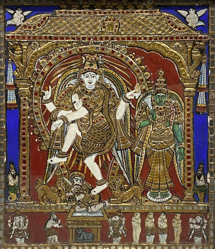 Nataraja and Meenakshi