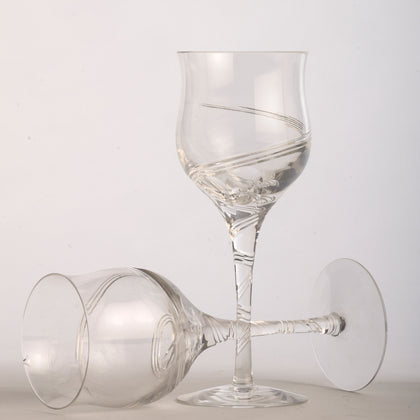 Swirl Wine Glasses (Set of 4)