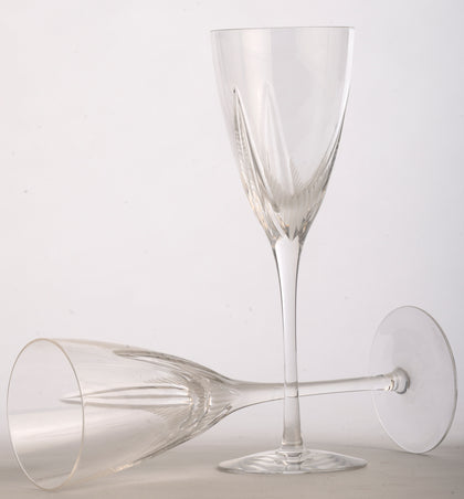 Crystal Wine Glasses (Set of 4)
