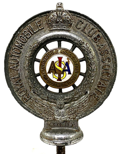 Royal Automobile Association Badge