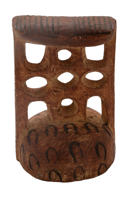 African Tribal Headrest 02