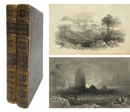 Bacon's Hindostan, Vol 1 and 2; 1837, First Ed.