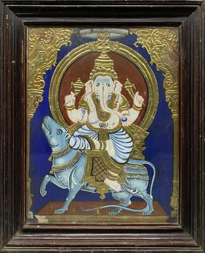 Ganesha Seated on Mooshika