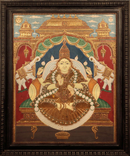 Seated Mahalakshmi