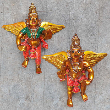 Pair of Angels (Wall Hanging)