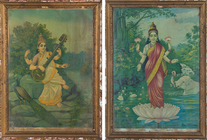 Saraswati and Lakshmi (Pair) 04