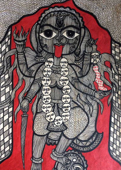 Madhubani - Untitled (Set of 6)