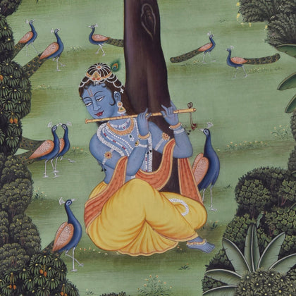 Krishna in Forest - II