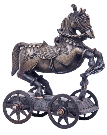 Chariot Horse Pull Toy