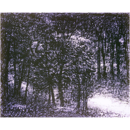 Walk in Woods - I,[product_collection],Vadehra Art Gallery Bookstore,Paramjit Singh - Artisera