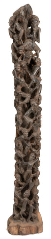 Makonde Tree of Life Sculpture 02