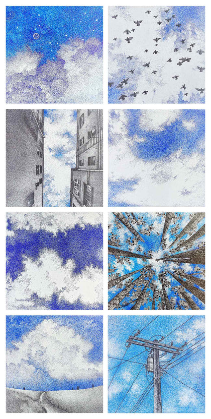 Sky Stories, Set of 8