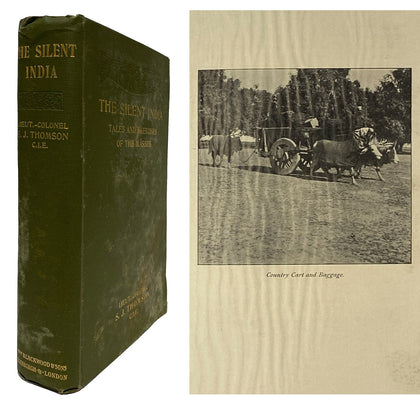The Silent India; 1913, First Ed.
