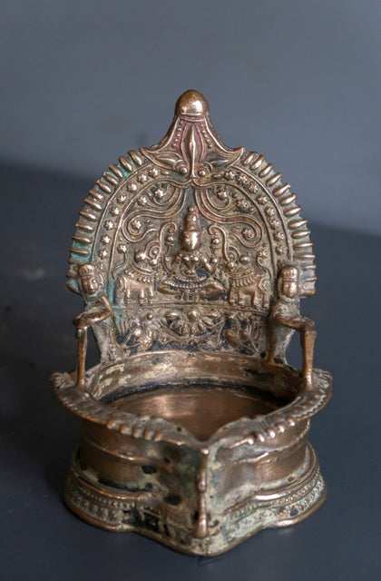 Gajalakshmi Oil Lamp - I