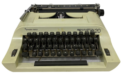 Remington 20 Typewriter, Sperry Rand