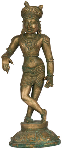 Shiva Wearing Turban (Chola Style) - II