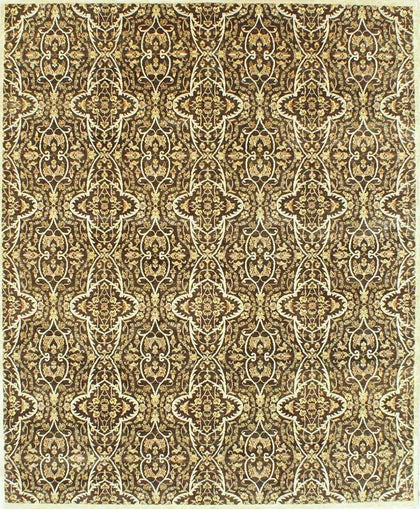 Mamluk Hand-Knotted Carpet