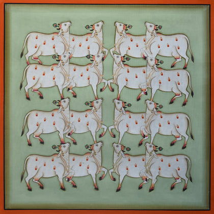 Group of Cows - X