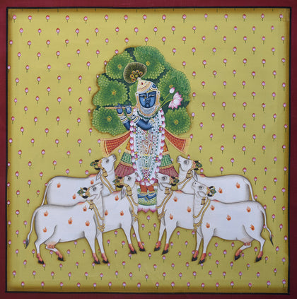 Shrinathji With Cows - VII