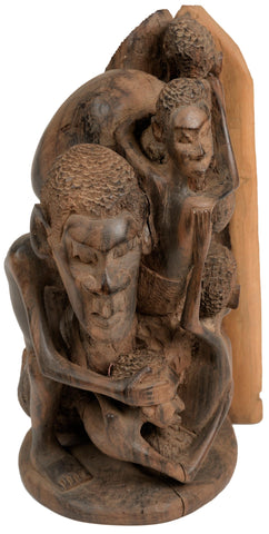 Makonde Tree of Life Sculpture 05