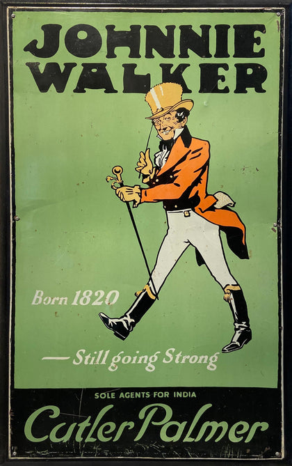 Johnnie Walker Advertisement Board