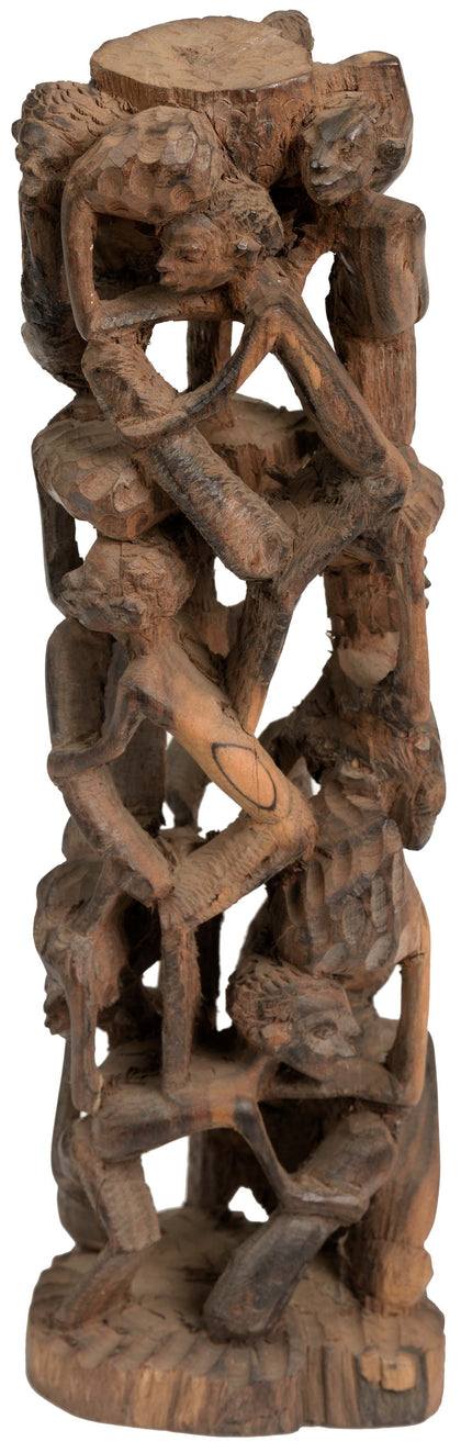 Makonde Tree of Life Sculpture 04