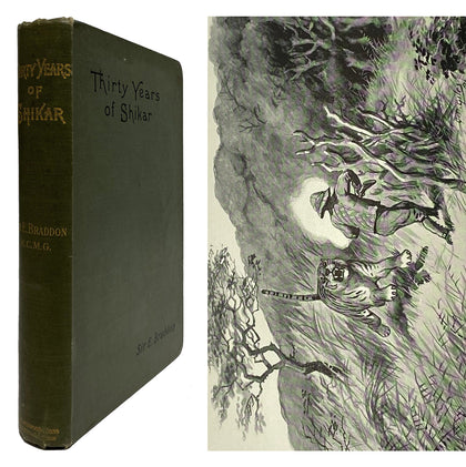 Thirty Years of Shikar; 1895, First Ed.