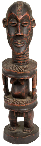 African Man Sculpture 02