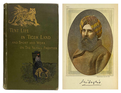 Tent Life in Tiger Land; 1892, First UK Edition