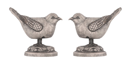 Pair of Silver Birds