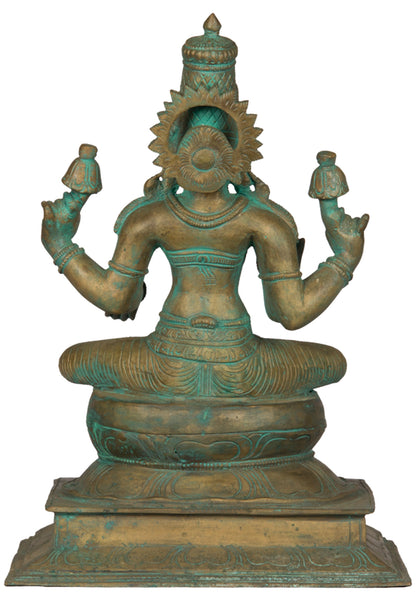 Seated Lakshmi