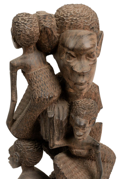 Makonde Tree of Life Sculpture 03