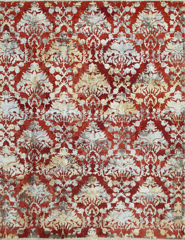 Urbane Hand-Knotted Carpet