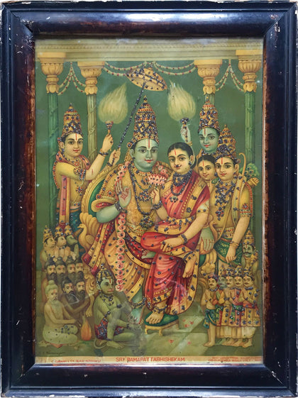 Ram Abhishek,[product_collection],Indian Arts Palace (AB),C.S Ramanujam - Artisera