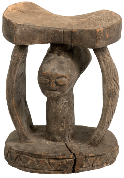 African Tribal Headrest 01