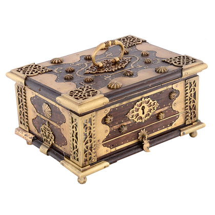 Jewelry Box with Brass Fittings