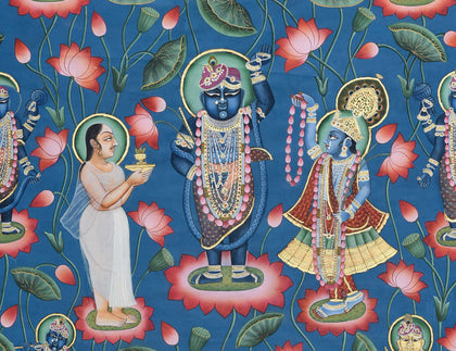 Shrinathji in Lotus Pond - III