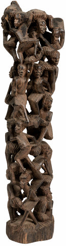 Makonde Tree of Life Sculpture 06