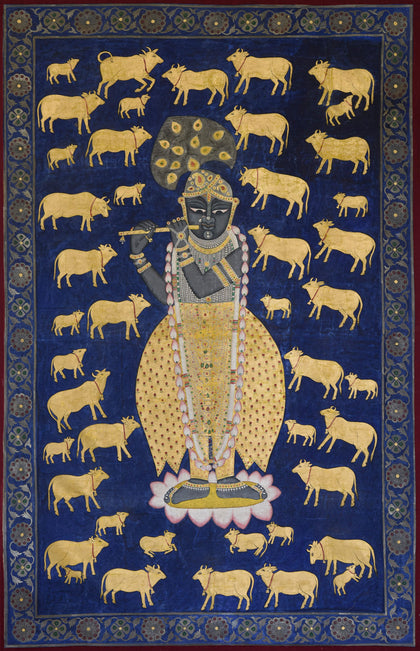 Shrinathji With Cows - II