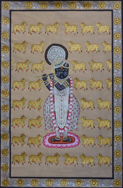 Shrinathji With Cows - IV
